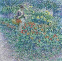 Louis Ritman, In The Garden