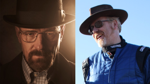 "theavc:  Mythbusters is going to do a Breaking Bad episode and now we are going to yell ""Yeah science!"" for the rest of the day."