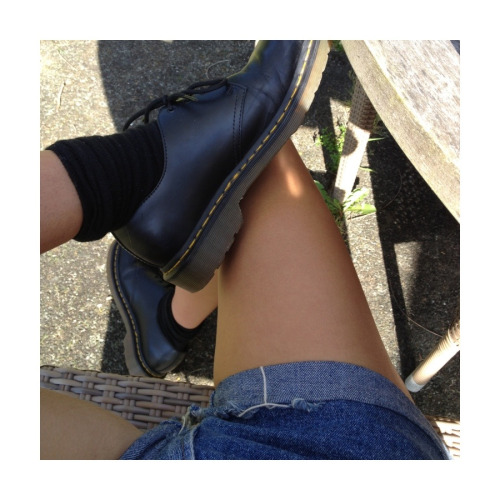 clubpunk:  I love my docs I don't even care if people call them school shoes