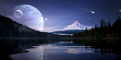 """Starlight Mountain"" on Flickr."