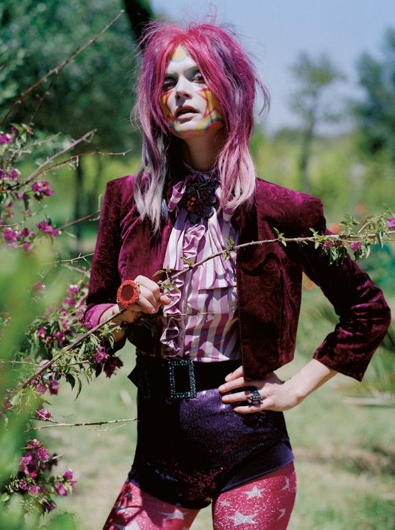 """Like Dreamers Do"" Vogue UK December 2012 Malgosia Bela by Tim Walker"