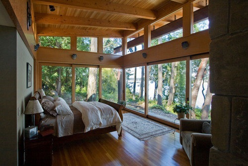 georgianadesign:  Sleeping in the forest of Marrowstone Island, WA. Krannitz Gehl Architects.