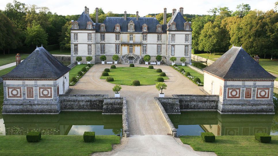 Chateau de Bourron in France