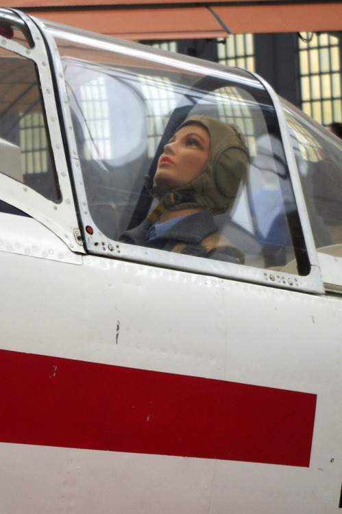 One more mannequin in pilot's suit. Seems to be something common…