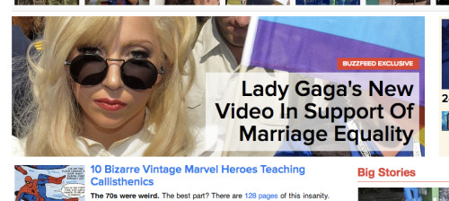 Great article on Buzzfeed about the brand new video that Lady Gaga just released for The Four 2012. You can just skip to the video here.