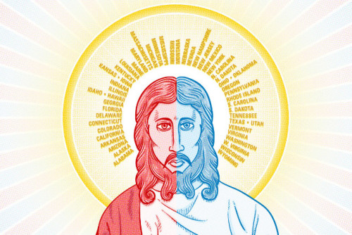 Liberals and conservatives choose to see Jesus in different ways. We consulted several pastors and religion professors to come up with this voter's guide to Jesus. Take the quiz and find out where you fall on the scale. Do you believe in a red state Jesus or a blue state Jesus? - CNN.com