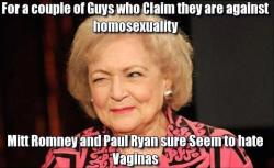 queergirlinredneckland:  fingerfuckingfrenzy:  I love you, Betty White.  My hero.