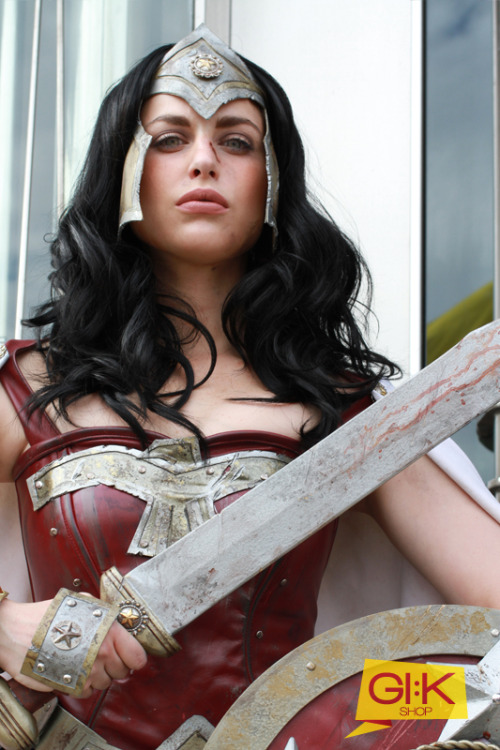 Warrior Wonder Woman from DC Universe Cosplayer: Meagan Marie Submitter: Andres Rodriguez of Gi:k BlogPhotographer: Gi:k Blog