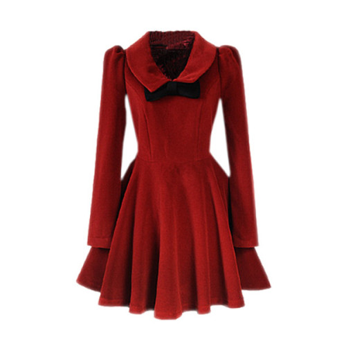 Dress   ❤ liked on Polyvore (see more wool dresses)