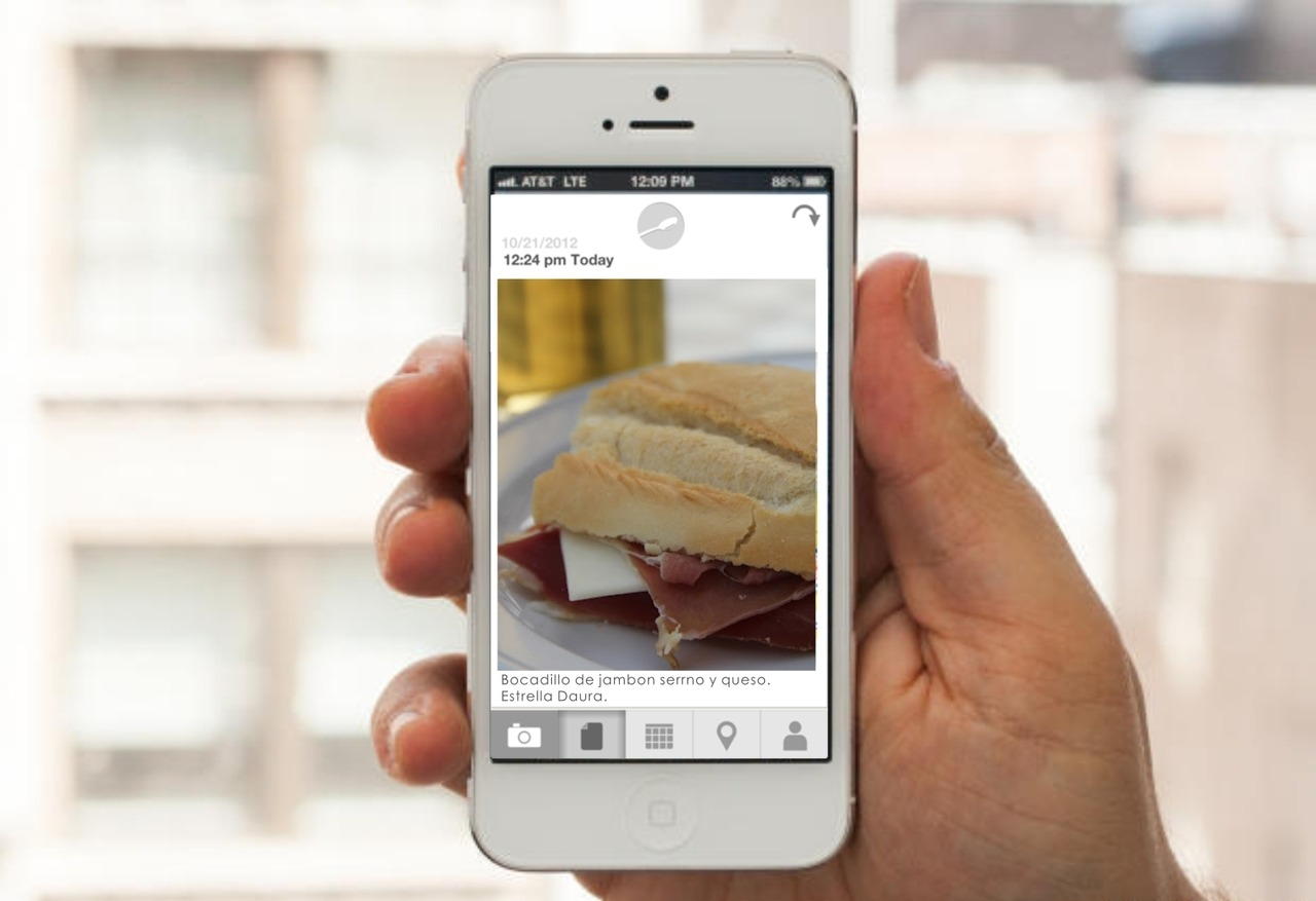 we've released foodnote today. and we're excited about it. foodnote can help you eat healthier without encouraging mentally unhealthy calorie counting and obsessive label reading. v1 is a simple tool to examine what, when and where you eat. v2 will have more tools to keep you eating well. yum. http://www.foodnote.com