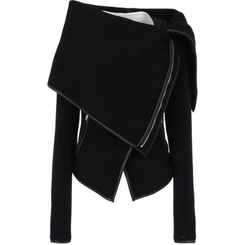 Gareth Pugh jacket   ❤ liked on Polyvore (see more genuine leather jackets)