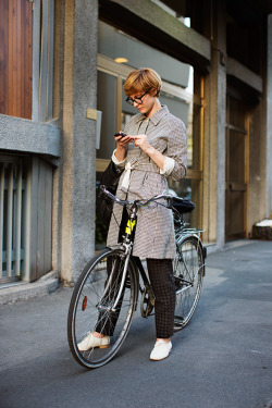calivintage:  street style by The Sartorialist.