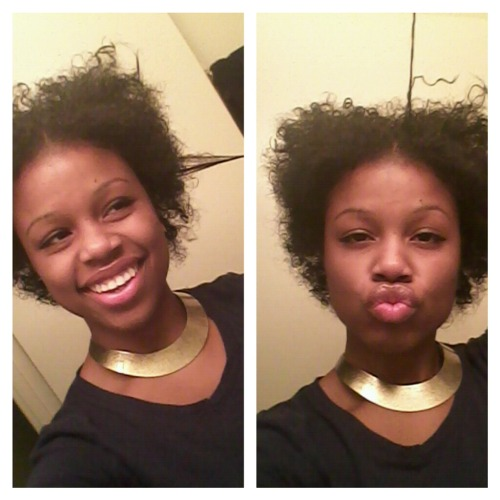 fuckyeahnaturalhair:  Natural hair plays tricks on people!!  Follow