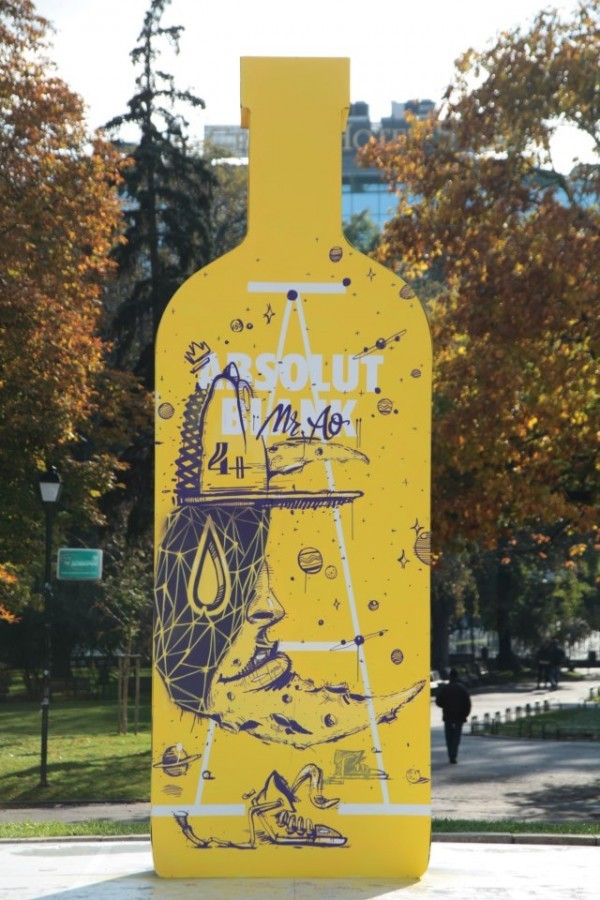 Arsek & Erase & Mr.AO for Absolut Blank