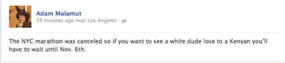 barelysarcasm:  Great status or GREATEST status?