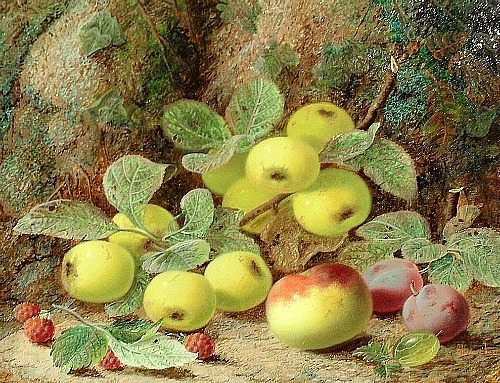 Oliver Clare Still Life with Fruit 19th century