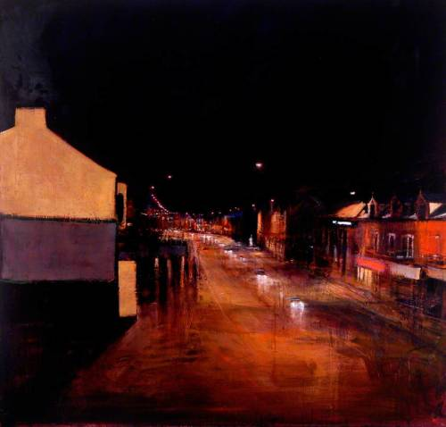 thorsteinulf:  Andrew Gifford - Middlesbrough Art Gallery II, Evening (c.2000)