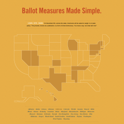 Know Your Ballot: How to Vote on Your 2012 Propositions A helpful tool to review both sides of every 2012 proposition—from all 50 states—that needs your vote. You can even print out your preferences and take it with you to the polls! Brought to you by GOOD HQ