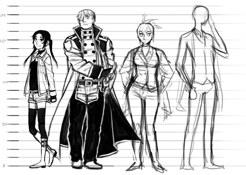 This will be something like the third version of the height chart ehehh…….. but this time I've got the proportions right so I think I'll bear to look at it a bit longer