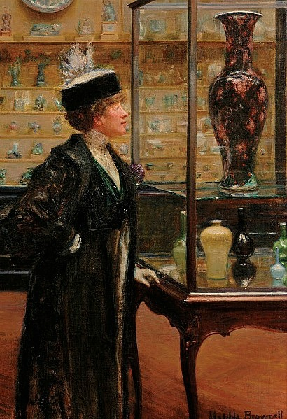 Matilda Auchincloss Brownell Girl in the Chinese Porcelain Room 1910