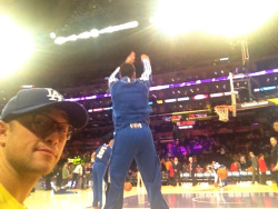 hitrecordjoe:  Lakers vs Clippers