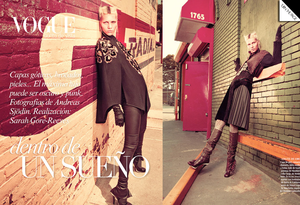 Vogue Mexico | Andreas Sjodi | Sarah Gore Reeves |  Aline Weber | November 2012
