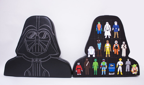 Darth Vader Vinyl sculptures by Snaggs