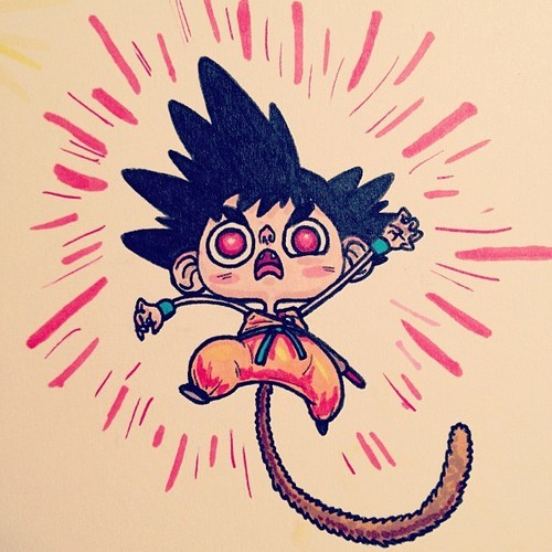 Goku by Chris G