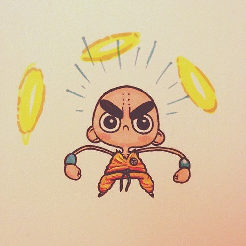 Pretty much Krillin it by Chris G