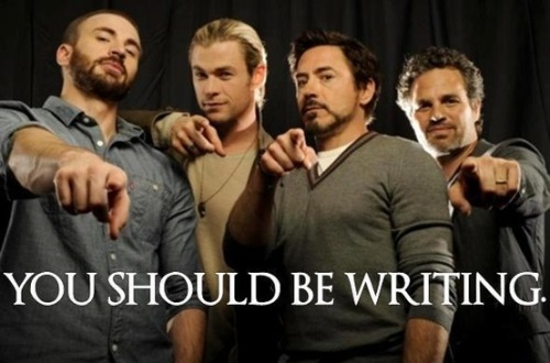 You should be writing. (via Writing)