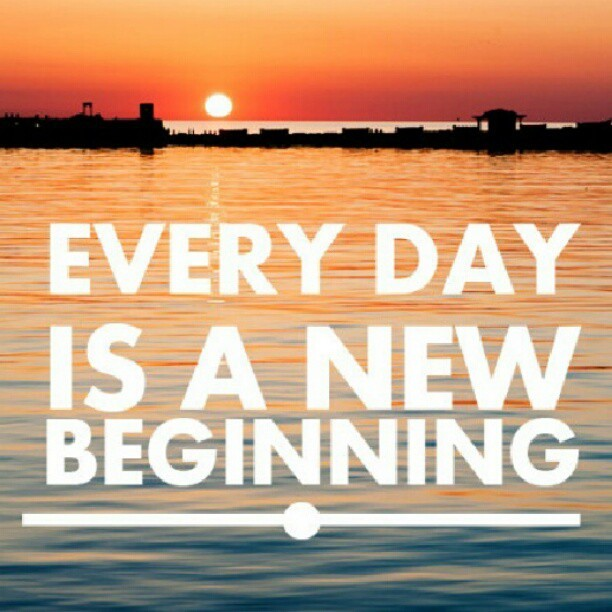 Every day is a new beginning~ Just enjoy it!!!每一天都是個新的开始~