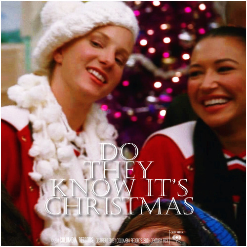 3x09 Extraordinary Merry Christmas | Do They Know It's Christmas Requested Alternative Cover 'The Infinite Brittana Series'