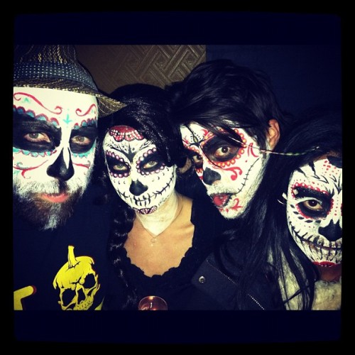 MANIAC celebrates Day of the Dead @hansondry !!!