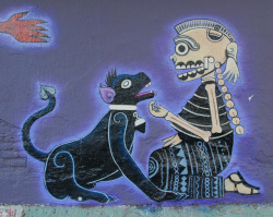 Skeleton With Dog Mexico by Ilhuicamina on Flickr.