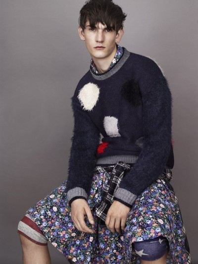 【JAMES LONG X TOPMAN KNITWEAR COLLECTION】 DAZEDDIGITAL 详情