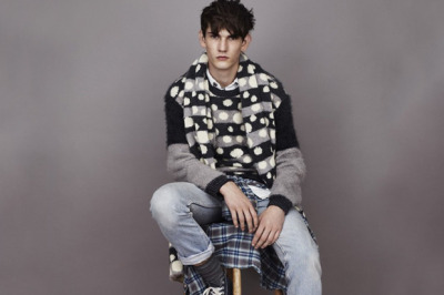 【JAMES LONG X TOPMAN KNITWEAR COLLECTION II】 DAZEDDIGITAL 详情