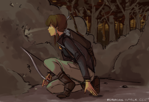 beroberos:  Now it actually is Katniss Korra ;D Got really lazy with the background but oh well 8(