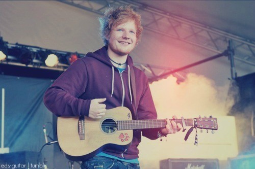 forever-ever-and-always:  Ed Sheeran!