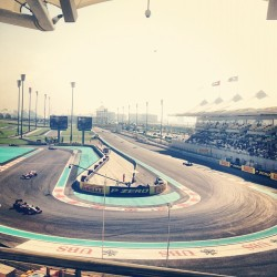 🚥🏁🚗💨 (at Yas Marina Circuit)