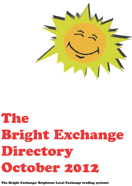 Front page design for the Bright Exchange a company based in Brighton. Website link