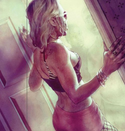 torojo:  Illustrated by Charles Chaisson for Playboy US Nov 2011 (p61, Hot Damn)