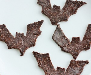 findvegan:  Quick and easy raw walnut, carob, and cinnamon cookies!
