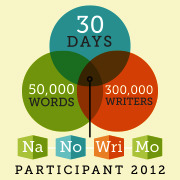 So… we meet again, NaNoWriMo. I decided to jump the bandwagon again this year and most likely fail again so… yeah. I don't even have a plot yet. I don't even have an idea for a main character yet.  I HAVE NOTHING! NOTHING, I TELL YOUUUU!  I should have probably thought this through.