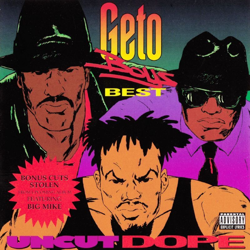 20 YEARS AGO TODAY |11/3/92| The Geto Boys released the greatest hits compilation, Uncut Dope: Geto Boys Best, on Rap-a-Lot Records.