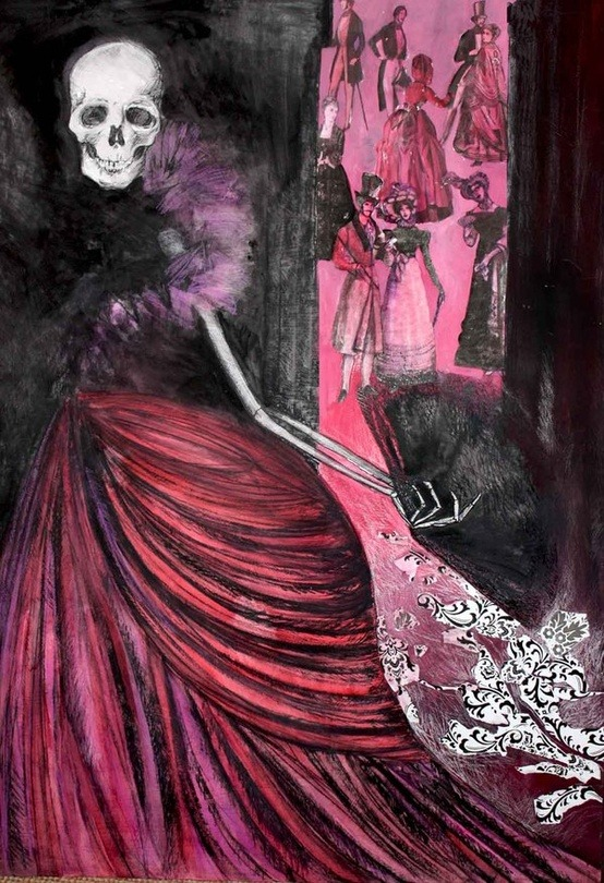 bleedingbetty1960:   Danse Macabre by Caroline Cream.