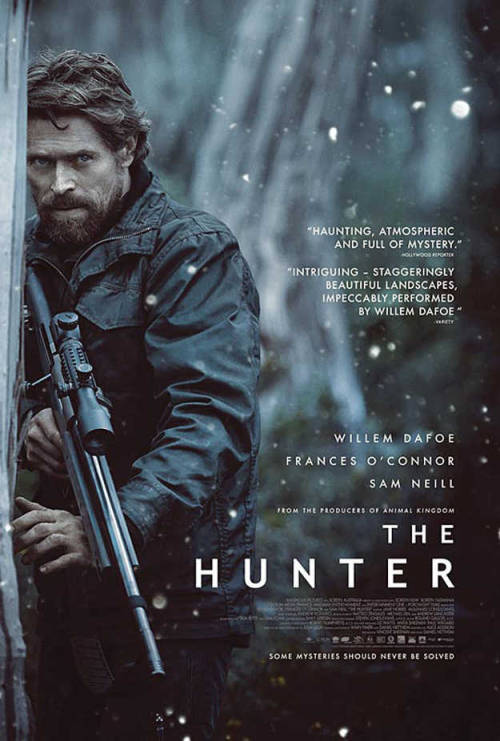 #119 The Hunter (2012) Dir. Daniel Nettheim  I'd happily watch Willem Dafoe read the phone book so the idea of him playing a badass hunter tracking down a tasmanian tiger was always going to be an easy sell on me. This is a movie shot with striking simplicity and it's quite beautiful to look at in places. It's a film filled with quiet moments but they're just as thrilling as the action in their own way. Dafoe's Hunter is yet another of cinema's existential loners of few words who ends up finding new meaning to life in a family that isn't his own. There's nothing groundbreaking about The Hunter but it's performed with grace and directed by an expert hand which both ensure it doesn't outstay it's welcome.  It's also quite moving in places. A movie that will no doubt be forgotten over the years but for those who stumble upon it in years to come will find it to be a little gem.