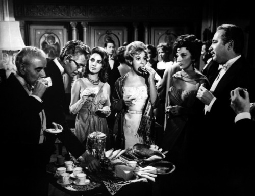 "Favourite Films of the 1960s 10. The Exterminating Angel (dir. Luis Bunuel, 1962) ""Luis Bunuel's ferociously brilliant The Exterminating Angel is one of his most provocative and unforgettable works."" - Marsha Kinder"
