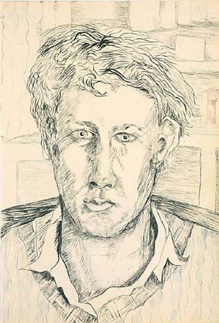 Lucian Freud, Self-portrait, 1940
