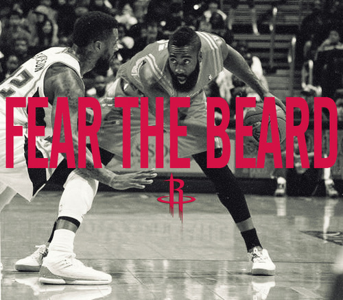 Photo: James Harden - Fear the beard: