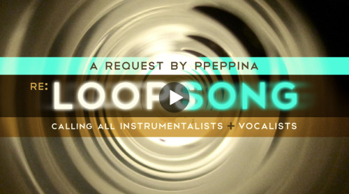 "CALLING ALL INSTRUMENTALISTS & VOCALISTS! Let's add more Instruments & Voices to THIS SONG from the ""RE: Loops"" collaboration! == Here's how YOU can contribute to this collaboration: * INSTRUMENTALISTS: Let's add a lot more Instruments to play along w/ the the piano in THIS SONG! If you don't play an Instrument you can add Sound F/X or Loop Samples! * VOCALISTS: We want to hear a TON OF VOICES singing the lyrics! You can also sing Vocal Harmonies as well. == You can contribute to the ""RE: Loops Song"" collaboration HERE!"